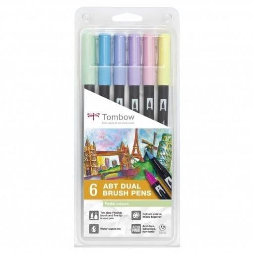 tombow abt dual brush pastel set