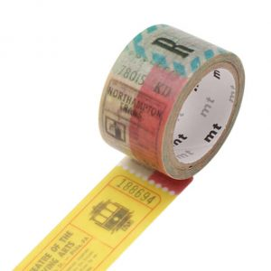 mt masking tape fab ticket