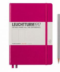 Leuchtturm1917 Hardcover A5 Medium Dotted Pages Berry