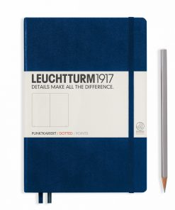Leuchtturm1917 Hardcover A5 Medium Dotted Pages Navy