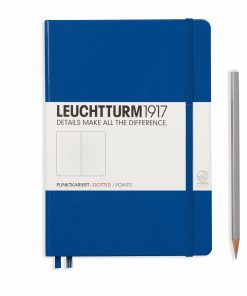 Leuchtturm1917 Hardcover A5 Medium Dotted Pages Royal Blue