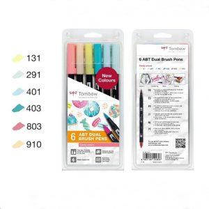 Tombow ABT Dual Brush Pens Candy set