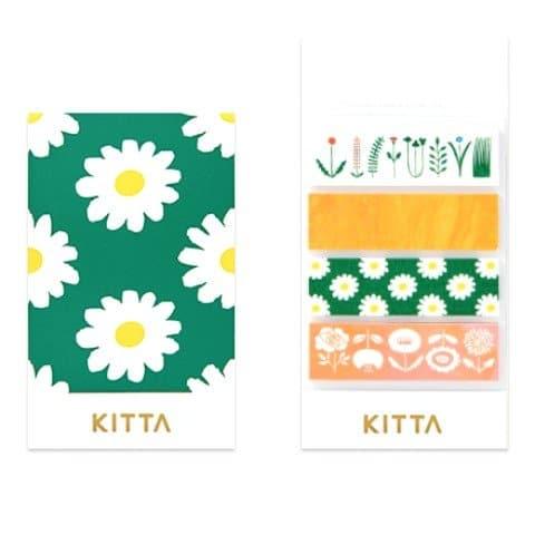 Kitta Washi Stickers Flowers KIT007