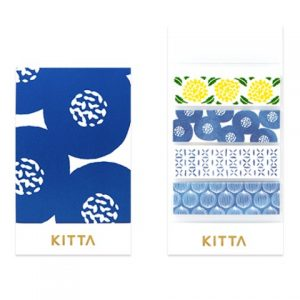 KITTA Washi Stickers Pattern KIT009