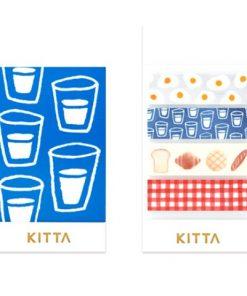 KITTA Washi Stickers Breakfast KIT012