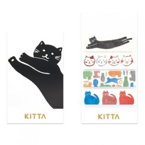 Kitta Washi Stickers Cats KIT026