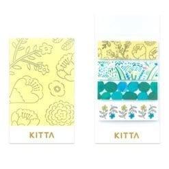 Kitta Washi Stickers Plants KIT036