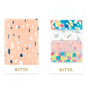 Kitta Washi Stickers Colorful KIT037