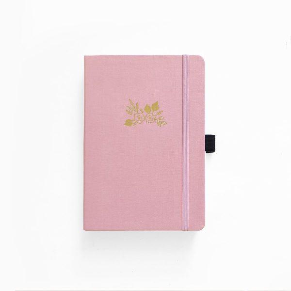 Archer & Olive A5 Light Pink Dot Grid Notebook Cover