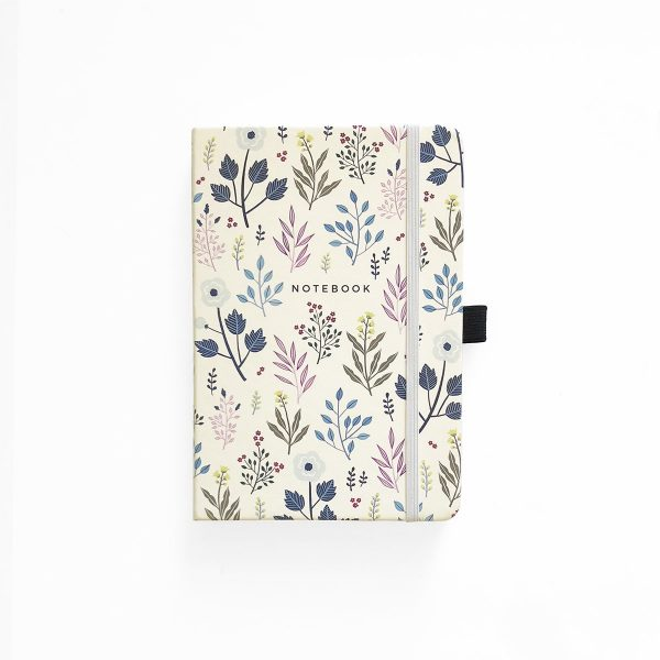 Archer and Olive A5 Fall Flowers Dot Grid Notebook Cover