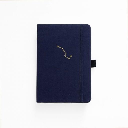 Archer & Olive A5 Night Sky Dot Grid Notebook Navy Blue Cover