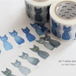 MT Mina Perhonen Neko cat washi tape