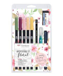 Tombow Watercolour Floral Set