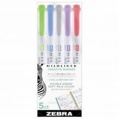 Zebra Mildliner Brush Warm Set