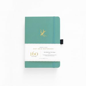 archer olive 31day-dreams-swallow a5 notebook