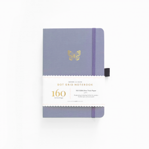 archer olive butterly-wings a5 notebook
