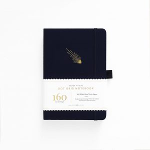 archer olive celestial-events-falling-skies a5 notebook