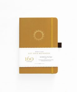 archer olive celestial-events-morning-Sun a5 notebook