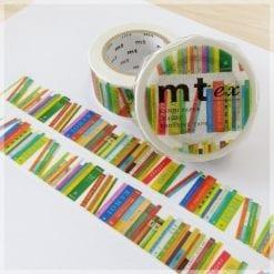 mt masking tape books pattern