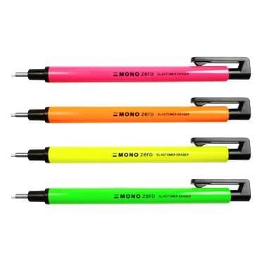 Neon Pink Tombow Mono Zero Precision Eraser Pen