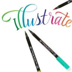 Brush Pens & Paint
