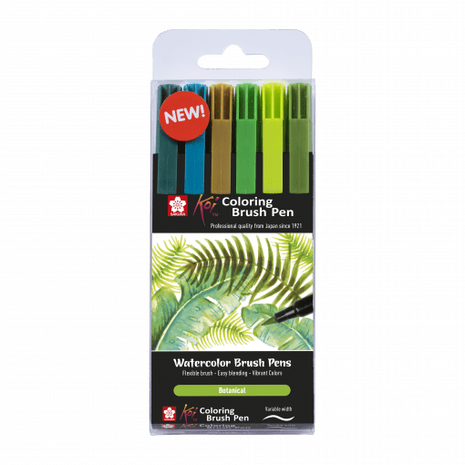 Sakura Koi Brush Pen Botanical Set