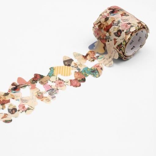 MT Retro Paper Butterfly Die Cut Washi Tape