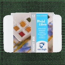 Van Gogh Muted Colours Watercolour Set
