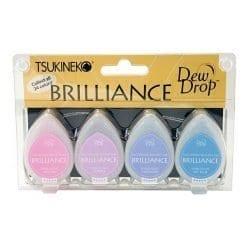 Tsukineko Brilliance Dew Drop Jewel Tone set