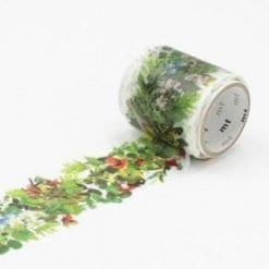 mt fab green washi tape roll
