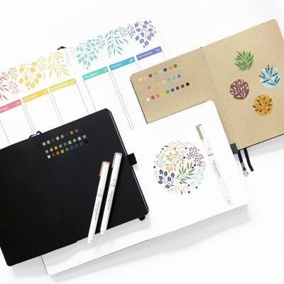 Acrylograph pens 4