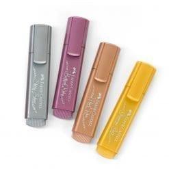 Faber Castell Metallic highlighters textliner