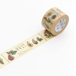 MT encyclopedia plant washi tape