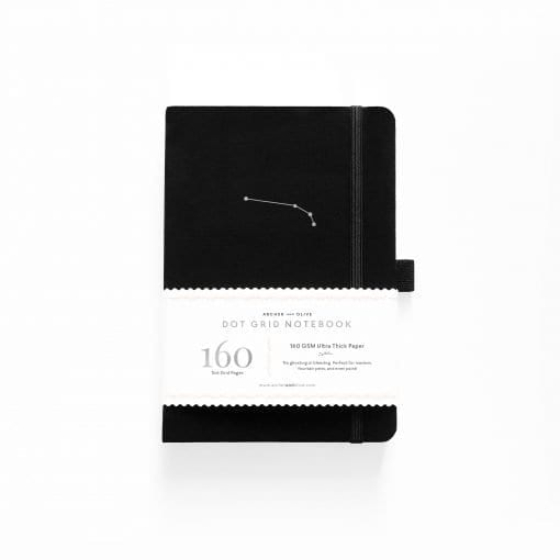 Archer & Olive Zodiac Collection Dot Grid Notebook Aries 2