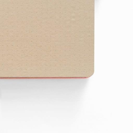 kraft paper bullet journal detail