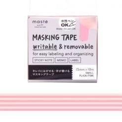 Masté Draw Me Pink Stripes Washi Tape