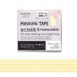 Masté Draw Me Yellow Stripes Washi Tape