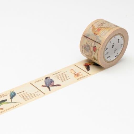 MT Encyclopedia Bird Washi Tape