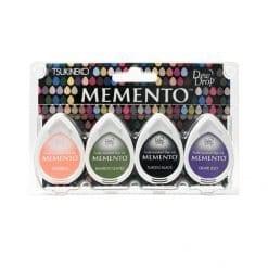 Tsukineko Memento Dew Drop Ink Pads 4-Pack - Jelly Beans
