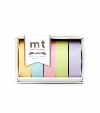 MT Gift Box Pastel 2 Washi Tape Set