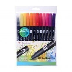Tombow ABT Sunset Colours Set of 12