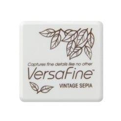 Tsukineko VersaFine Small Ink Pad - Vintage Sepia