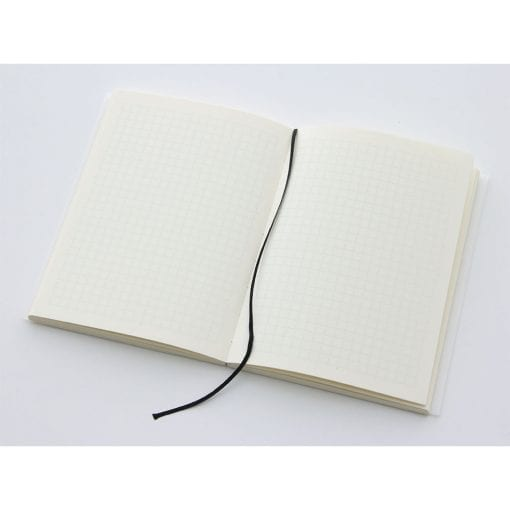 MD paper A6 Notebook Grid Pages