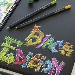 Faber-Castell Black Edition Colour Pencils for black paper