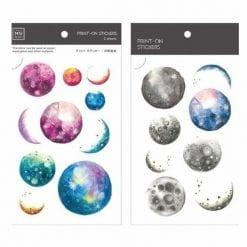 MU Print-On Stickers - Universe BPOP001026