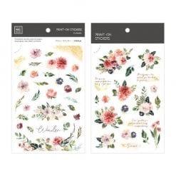 MU Print-On Stickers - Wonder Garden