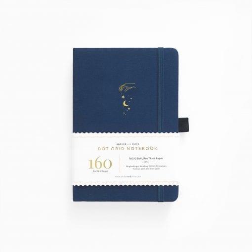 A5 Archer & Olive Stardust Dot Grid Notebook