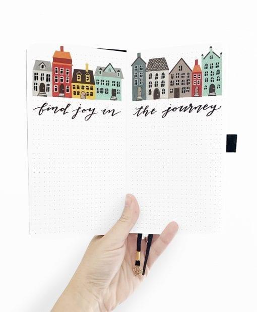 A5 Archer & Olive Traveler's Size Dot Grid Notebook