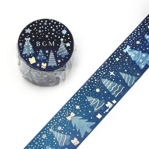 BGM Christmas Trees Washi Tape