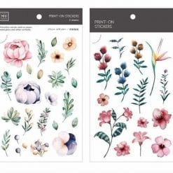 MU Print-On Stickers - Summer Garden